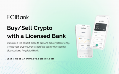 Buy and Sell Your Cryptocurrency with a Licensed Bank